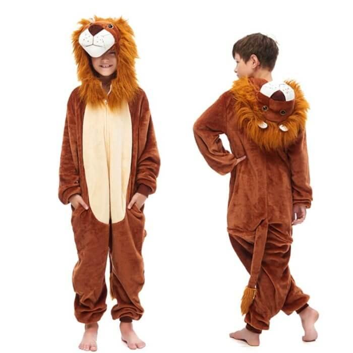 Kids Kigurumi Onesie Unicorn Pajamas For Children Animal Dinosaur Blanket Sleepers Baby Costume Winter Boy Girl Licorne Jumspuit 5