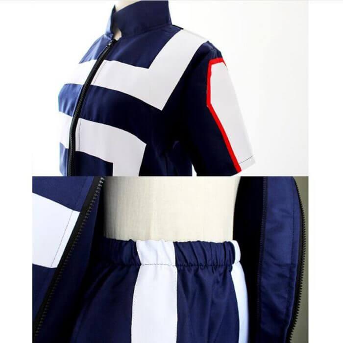 My Hero Academia Boku no Hero Cosplay Costume Men Women School Uniform Gym Suit Tshirt Pants Midoriya Izuku Todoroki Shouto 3
