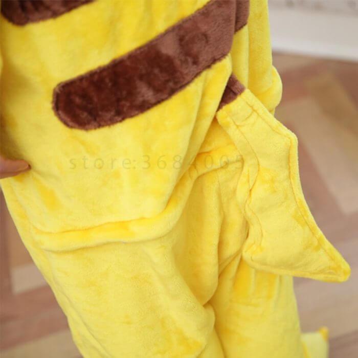 Kigurumi Unicorn Pajama Adult Animal Pikachu Onesie Women Men Couple 2019 Winter Pajamas Suit Stitch Sleepwear Flannel Pijamas 4