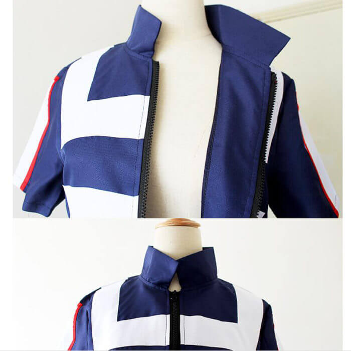 My Hero Academia Boku no Hero Cosplay Costume Men Women School Uniform Gym Suit Tshirt Pants Midoriya Izuku Todoroki Shouto 5