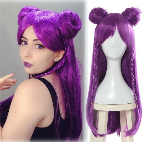 Synthetic Cosplay Wig