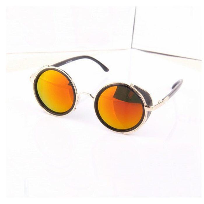 Anime HELLSING Alucard cosplay prop Vampire Hunter Gläser Orange Sonnenbrille für Männer Frauen 3