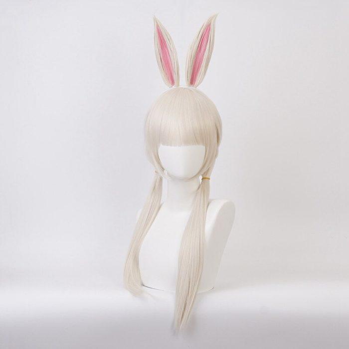 Anime BEASTARS Haru Perücke Kaninchen Cosplay Kostüm Synthetische Haar Party Cosplay Perücken 2