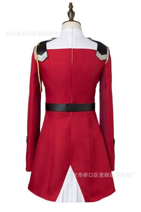 02 null Zwei Cosplay Kostüm LIEBLING in die FRANXX Cosplay DFXX Frauen Kostüm Volle Sets Kleid 5