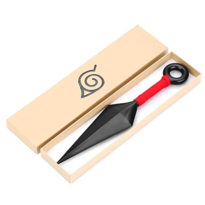 Anime Naruto Konoha Ninja Kakashi Cosplay Prop Kunai Messer Waffen Rüstung Kind Erwachsene Werfen Darts Zubehör Halloween Geschenk 1