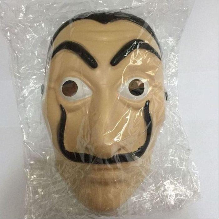 Komödie Master La Casa De Papel Dali Maske Halloween Masquerade Cosplay Lustige Zubehör 2