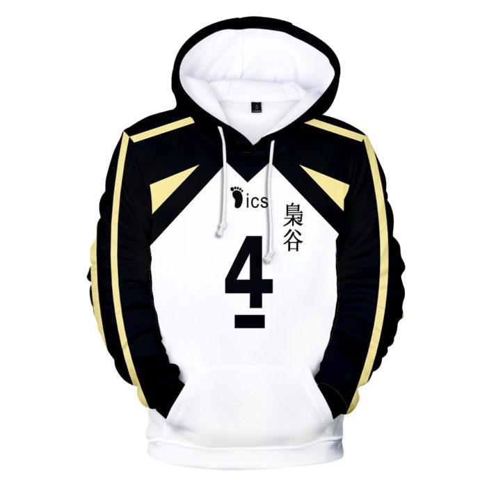 Japan Anime Haikyuu Cosplay Kostüm Fukurodani Akademie Volleyball Club Akaashi Keiji Bokuto Koutarou Unisex 3D Hoodie Sweatshirt 1