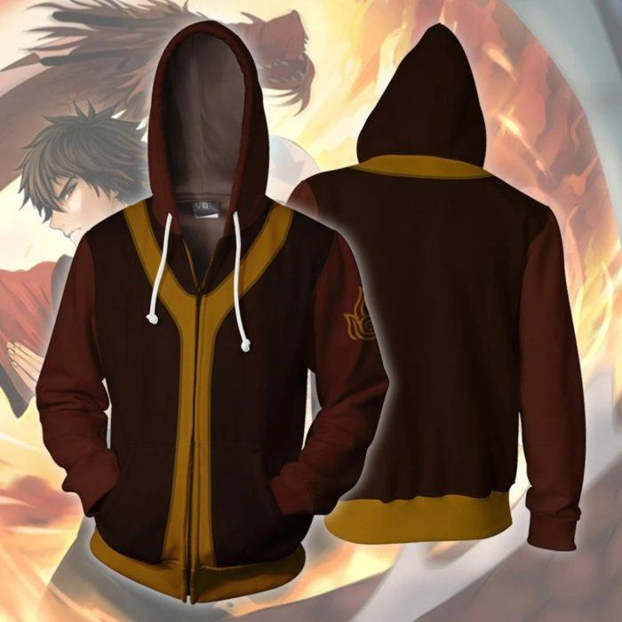 AVATAR Last Airbender-fall APPA Cosplay Hoodie Zipper Up Mit Kapuze Casual Hoodie Anime AVATAR Kostüm Dünne Jacke 6