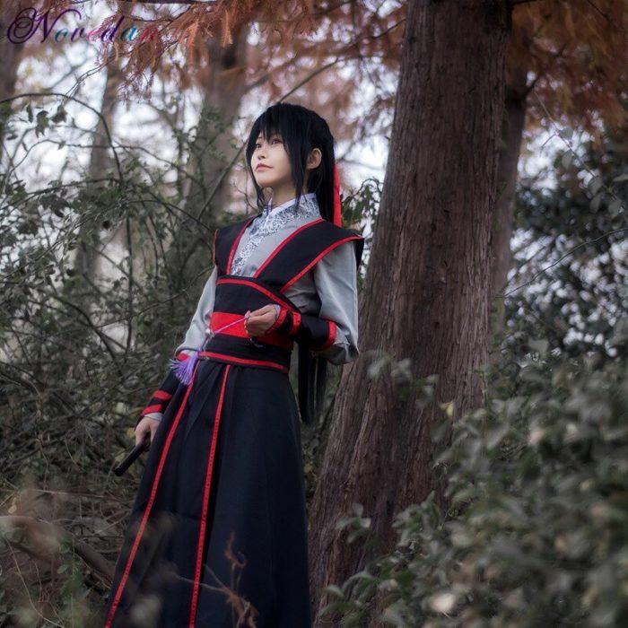 Anime Dao Mo Zu Shi Cosplay Wei Wuxian Jiang Cheng Kostüm Großmeister von Dämonische Anbau Mo Dao Zu Shi Cosplay kostüm Männer 3
