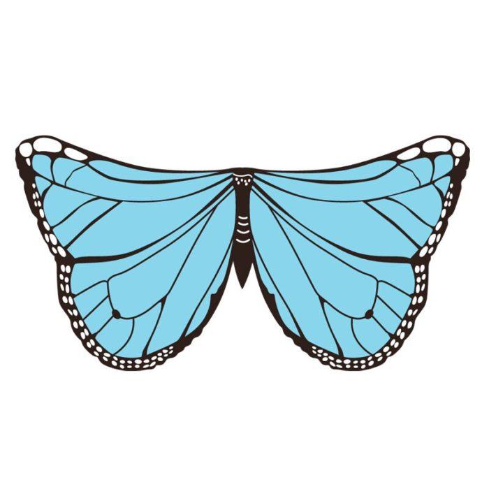 Drachen Kostüme Schmetterling Flügel Vogel Cosplay Ara Elster Inspiriert Flügel Kinder Kostüm Blau Rot 6