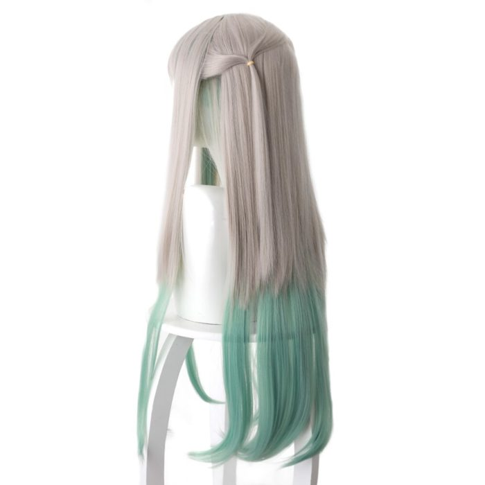 80cm Anime Jibaku Shounen Hanako kun Cosplay Perücken Nene Yashiro Lange Wärme Beständig Synthetische Haar Party Perücken 4