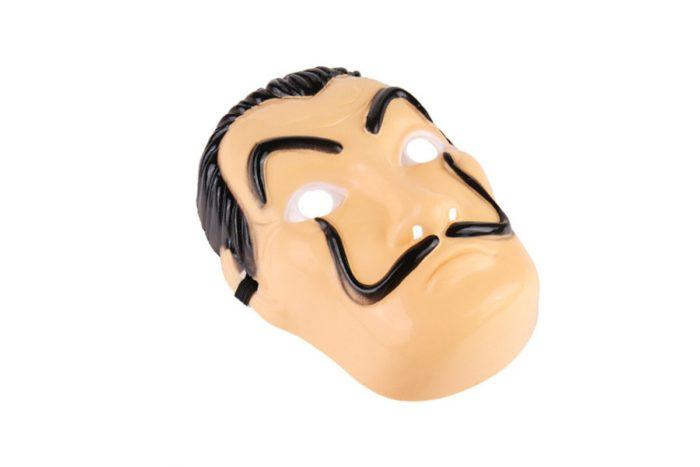 Komödie Master La Casa De Papel Dali Maske Halloween Masquerade Cosplay Lustige Zubehör 4
