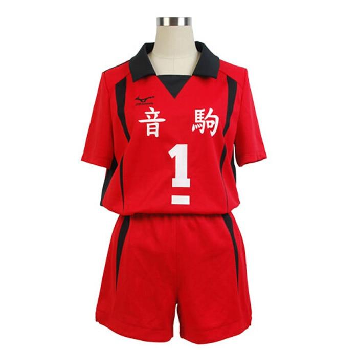Haikyuu!! Nekoma Hohe Schule #5 1 Kenma Kozume Kuroo Tetsuro Cosplay Kostüm Haikiyu Volley Ball Team Jersey Sportswear Uniform 8