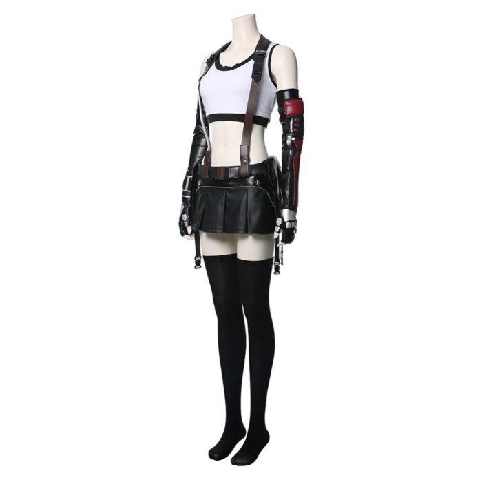 Final Fantasy VII Remake Tifa Lockhart Cosplay Kostüm Erwachsene Frauen Mädchen Halloween Karneval Kostüme 5