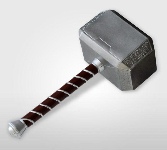1:1 Thor Axt Hammer Cosplay Waffen Film Rolle Spielen Thor Donner Hammer Axt Stormbreaker 73cm 44cm 6