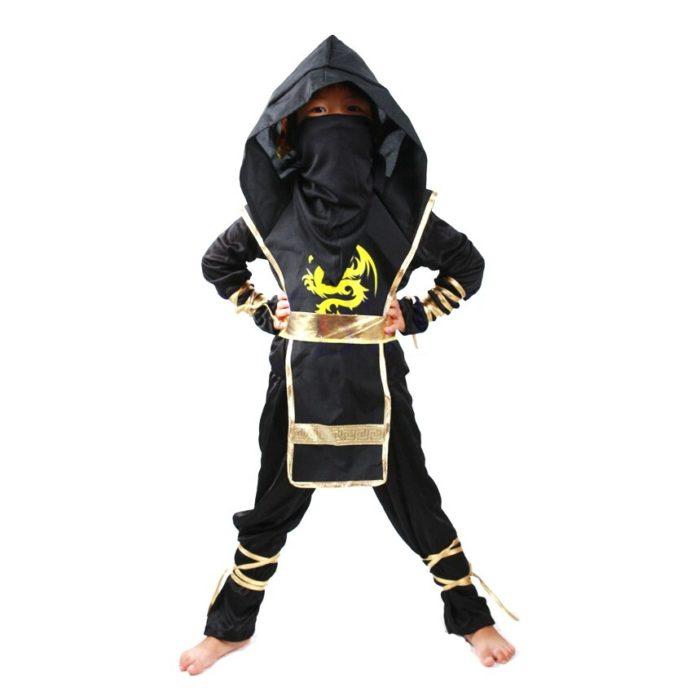 Ninja Kostüm Kind Ninjago Party Kostüme Jungen Mädchen Halloween Phantasie Kleid Superhero Cosplay Ninja Anzug Kinder Kleidung Set Geschenk 6