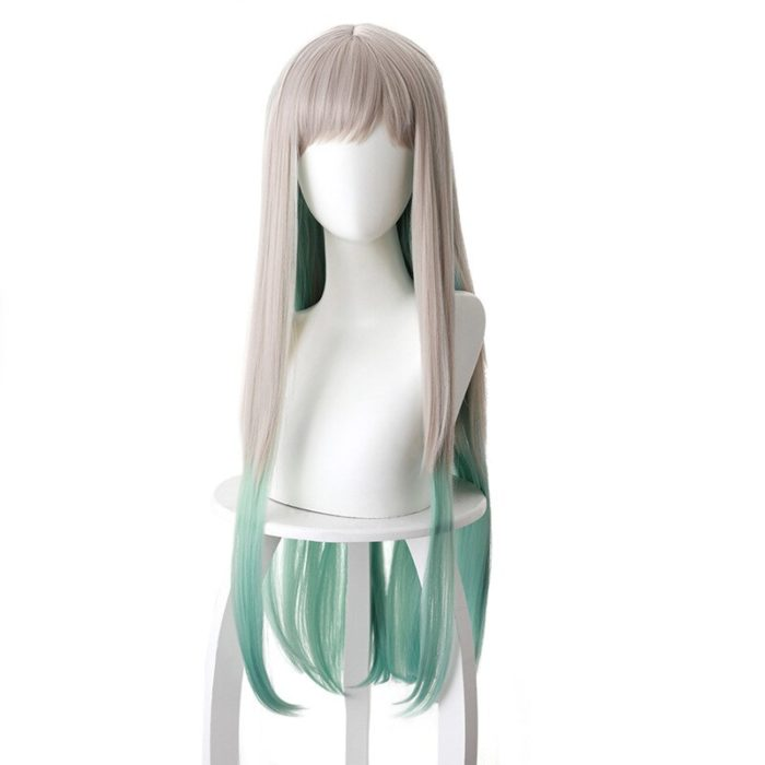 DIOCOS Anime Jibaku Shounen Hanako kun Nene Yashiro Cosplay Kostüm Perücke Frauen Kleid für Halloween-Party 2