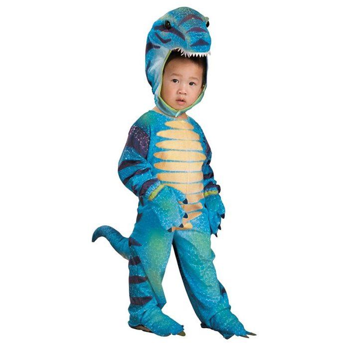 Neue Triceratops Kostüm Jungen Kinder Kleine T-Rex Kostüm Cosplay Dinosaurier Overall Halloween Cosplay Weihnachten kostüme für kinder 4