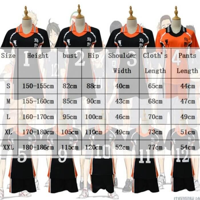 9 stile Haikyuu Cosplay Kostüm Karasuno Gymnasium Volleyball Club Hinata Shyouyou Sportswear Trikots Uniform 3