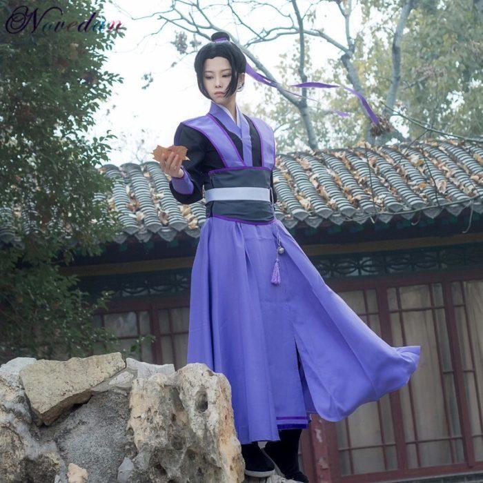 Anime Dao Mo Zu Shi Cosplay Wei Wuxian Jiang Cheng Kostüm Großmeister von Dämonische Anbau Mo Dao Zu Shi Cosplay kostüm Männer 5