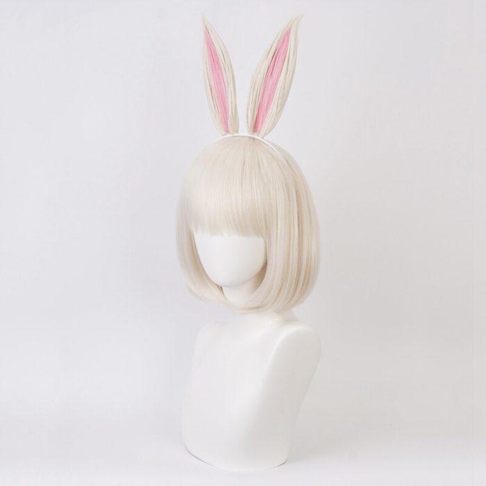 Anime BEASTARS Haru Perücke Kaninchen Cosplay Kostüm Synthetische Haar Party Cosplay Perücken 6