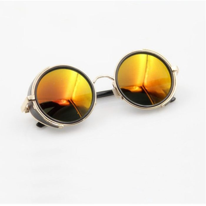 Anime HELLSING Alucard cosplay prop Vampire Hunter Gläser Orange Sonnenbrille für Männer Frauen 2