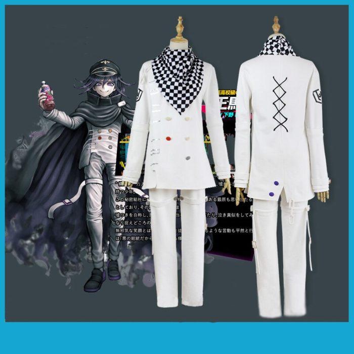 Anime Danganronpa V3 Ouma kokichi Cosplay Kostüm Japanischen Spiel Schuluniform Anzug Outfit 2