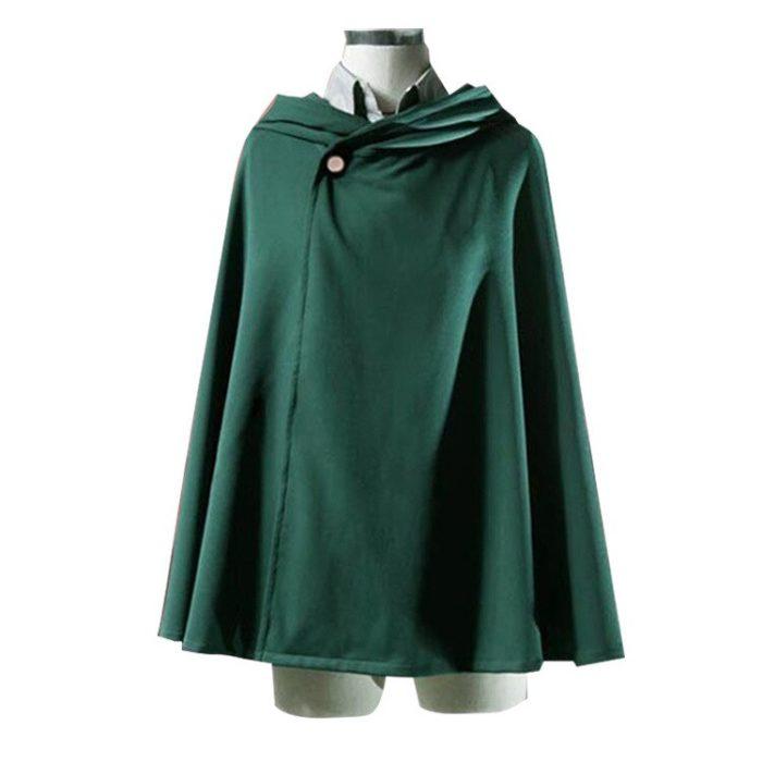 2019 Hoodie Angriff auf Titan Mantel Shingeki keine Kyojin Scouting Legion Cosplay Kostüm anime cosplay grün Cape Frauen herren kleidung 2