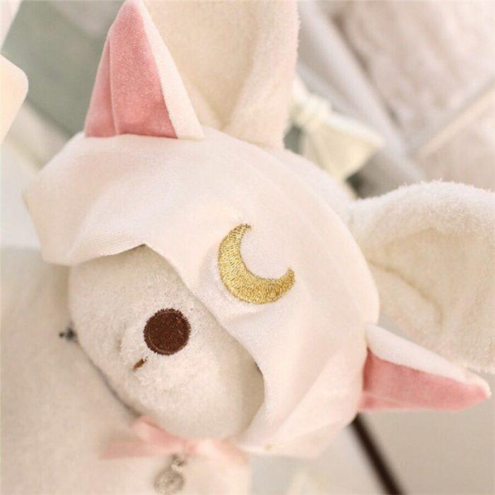 Sailor Moon Luna Katze Ohren Stirnband Cosplay prop Nette Gesicht Waschen Make-Up Werkzeug Haar Zubehör 6