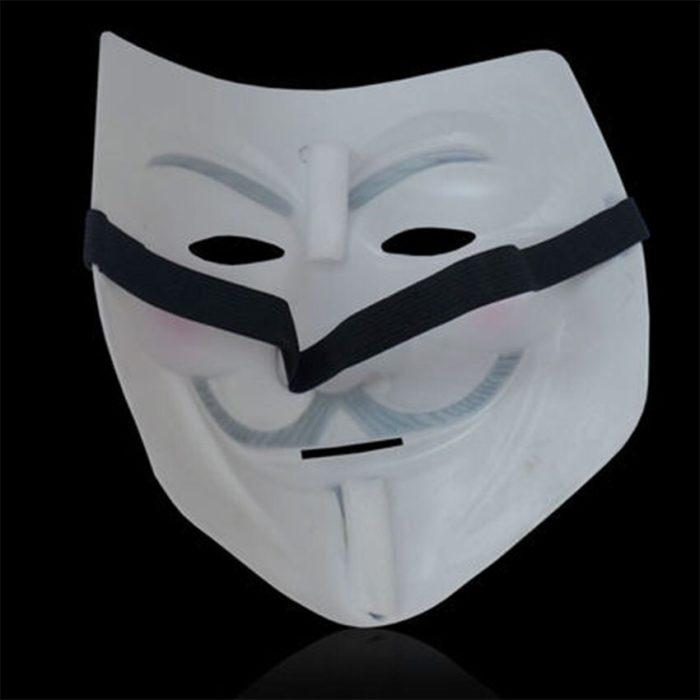 V Wie Vendetta Maske Guy Fawkes anonymous-maske Halloween Kostüm Cosplay Venezianischen Karneval Maske Weihnachten Geschenke für Männer 6