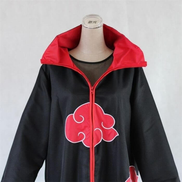 Naruto Kostüm Akatsuki Mantel Cosplay Sasuke Uchiha Cape Cosplay Itachi Kleidung Cosplay kostüm S-XXL 4