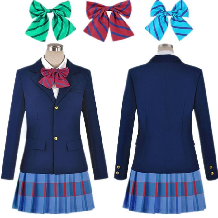 Anime Lovelive Liebe Live Cosplay Kostüm Kousaka Honoka Minami Kotori Ayase Eli Tojo Nozomi Nishikino Maki Schuluniform 1