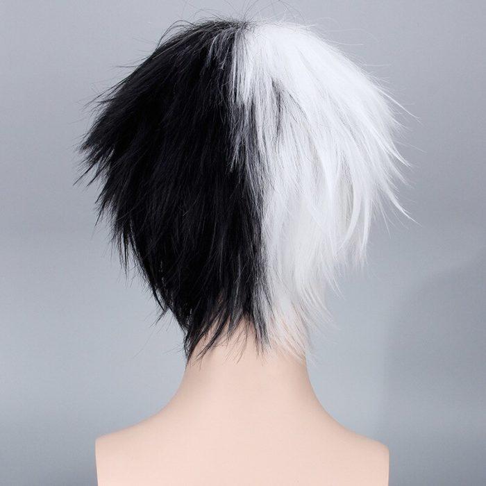 Anime Danganronpa Monokuma Perücke Dangan Ronpa Wärme Beständig Synthetische Haar Cosplay Perücken + Perücke Kappe 5