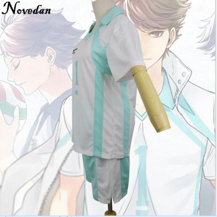 Haikyuu Kageyama Tobio Aoba Johsai Koushi Sugawara Oikawa Tooru Cosplay Kostüm Uniform Jersey 5