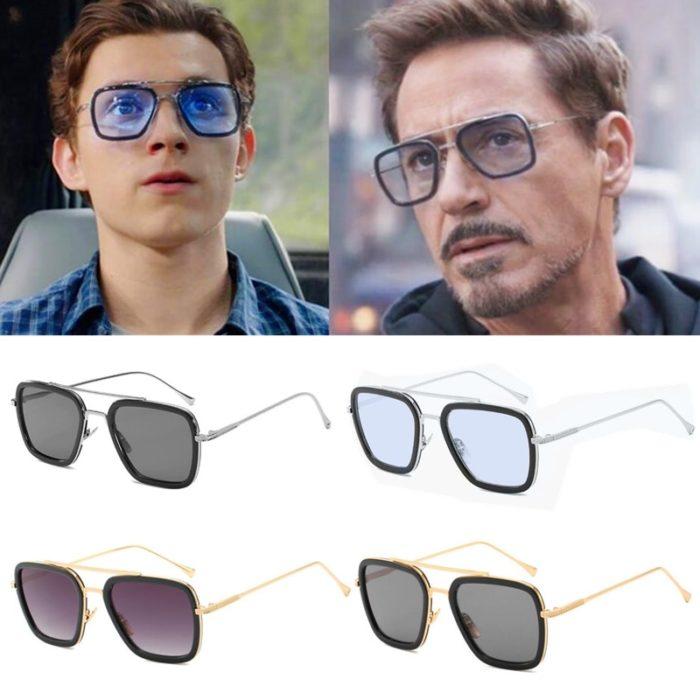 Spinne Weit Von Zu Hause Eisen-Mann Gläser Film Peter Parker Cosplay Spinne Edith Sonnenbrille 1