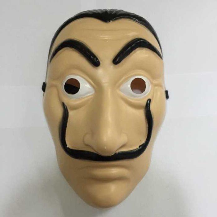 Komödie Master La Casa De Papel Dali Maske Halloween Masquerade Cosplay Lustige Zubehör 1