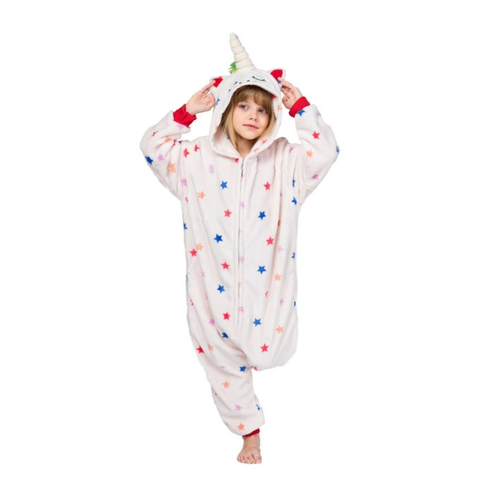 Halloween Kostüm Anime Cosplay Kigurumi erwachsene einhorn Stich Onesies Spinne mann Overall warme Mit Kapuze Pyjamas Für Frauen Kinder Männer 5