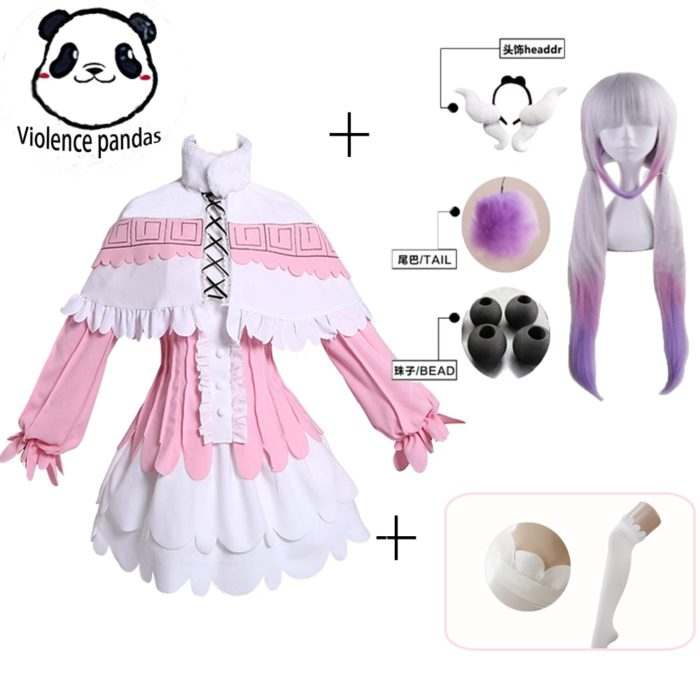 Kanna Cosplay Japanischen Anime Fräulein Kobayashi der Drachen Maid Kamui Kanna Cosplay Kostüme Halloween Weihnachten Kleid Für Frauen 1