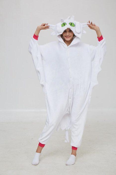 Kigurumi Anime Wie Trainieren sie Ihre Dragon Zahnlos Cosplay Kostüm Overall Pyjamas Lustige Drachen Onepiece Tier Karneval Cosplay 5