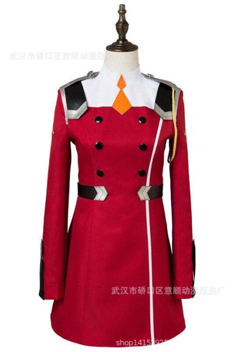 02 null Zwei Cosplay Kostüm LIEBLING in die FRANXX Cosplay DFXX Frauen Kostüm Volle Sets Kleid 3