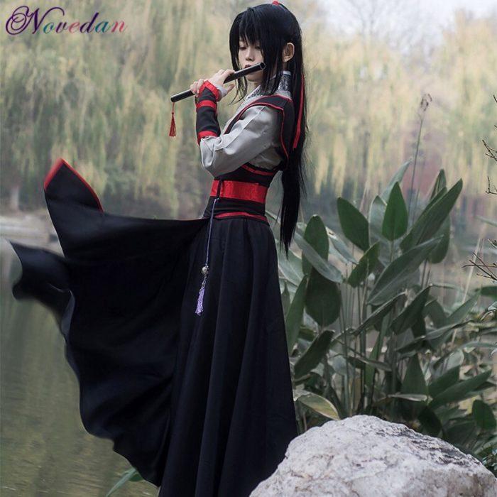 Anime Dao Mo Zu Shi Cosplay Wei Wuxian Jiang Cheng Kostüm Großmeister von Dämonische Anbau Mo Dao Zu Shi Cosplay kostüm Männer 2
