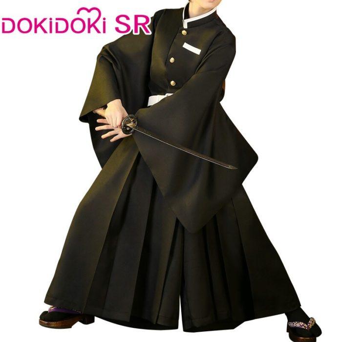 DokiDoki-SR Anime Cosplay Dämon Slayer: kimetsu keine Yaiba Cosplay Kostüm Tokitou Muichirou Cosplay Kimetsu keine Yaiba Kostüm Männer 4