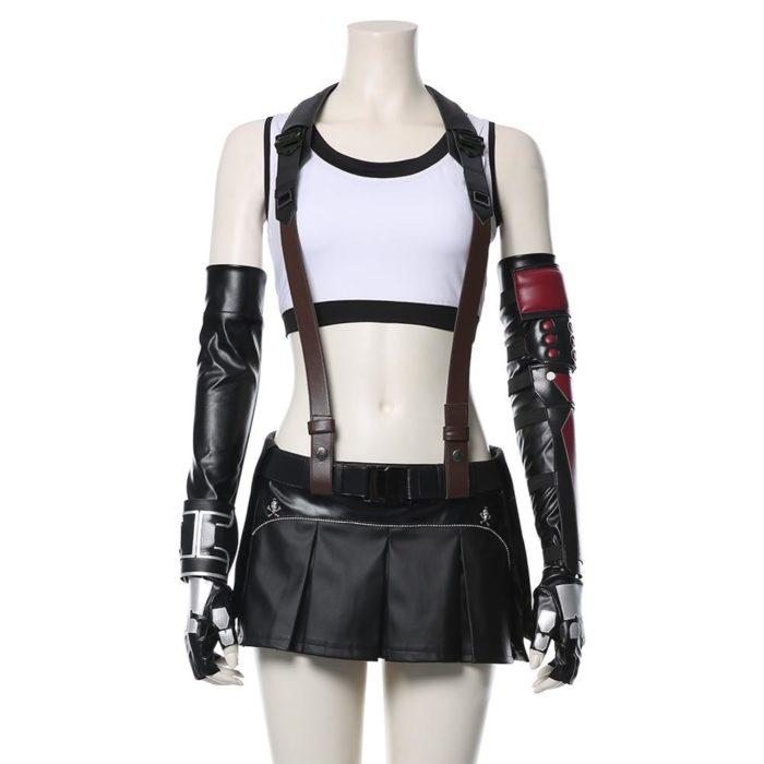 Final Fantasy VII Remake Tifa Lockhart Cosplay Kostüm Erwachsene Frauen Mädchen Halloween Karneval Kostüme 6