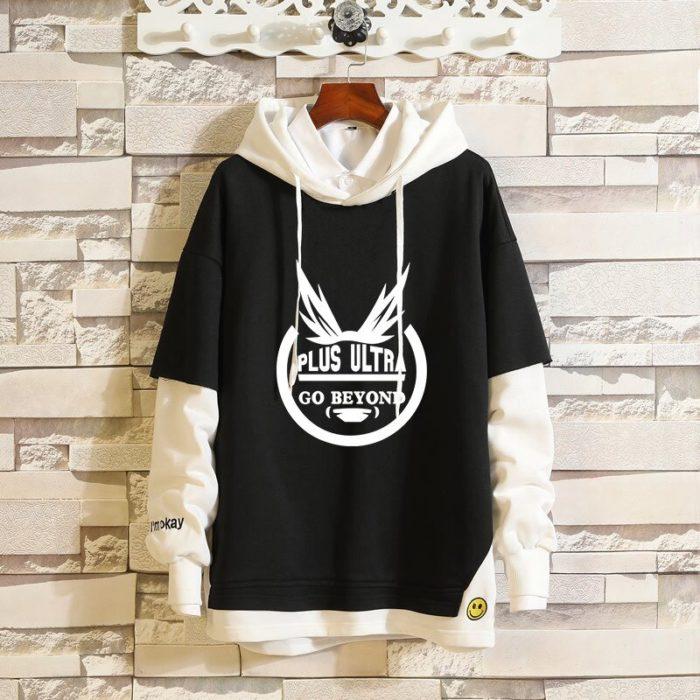 Mein Boku keine Hero Wissenschaft Midoriya Izuku Todoroki Shoto Sportswear Sweatshirts Top Gefälschte Zwei Stück Cosplay Kostüm Pullover Hoodie 5
