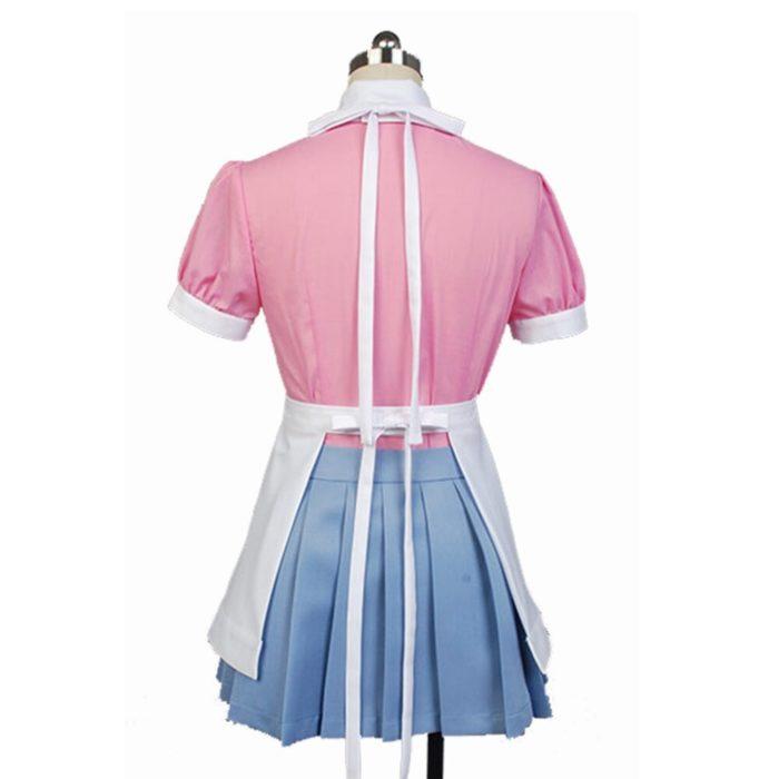 Dangan Ronpa 2 Mikan Tsumiki Cosplay Kostüm irgendeine größe 3