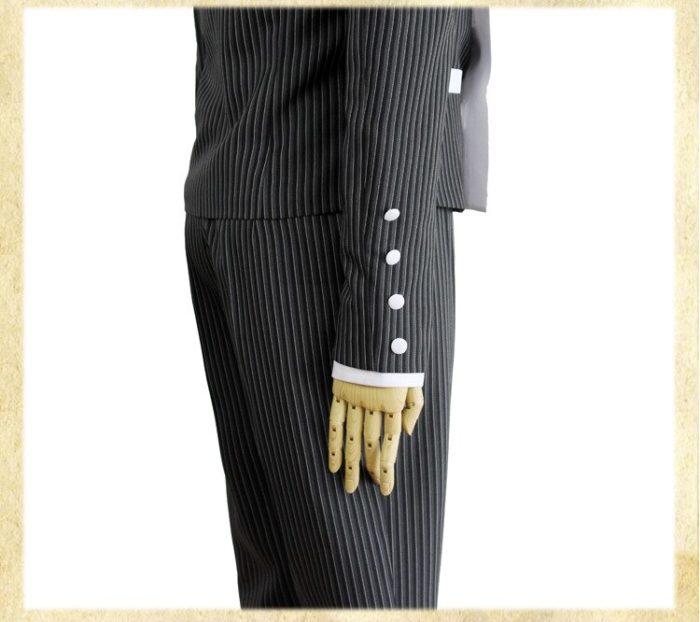 Nach Maß Neue Danganronpa V3 Cosplay Saihara Shuichi Cosplay Kostüm Anime Spiel Schuluniform Anzug Outfit Mantel + Hosen + hut 2