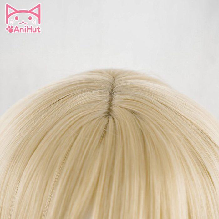 【AniHut】Rachel Gardner Perücke Engel von Tod Cosplay Perücke Synthetische Blonde Haar Ray Cosplay 2