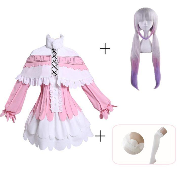 Kanna Cosplay Japanischen Anime Fräulein Kobayashi der Drachen Maid Kamui Kanna Cosplay Kostüme Halloween Weihnachten Kleid Für Frauen 4
