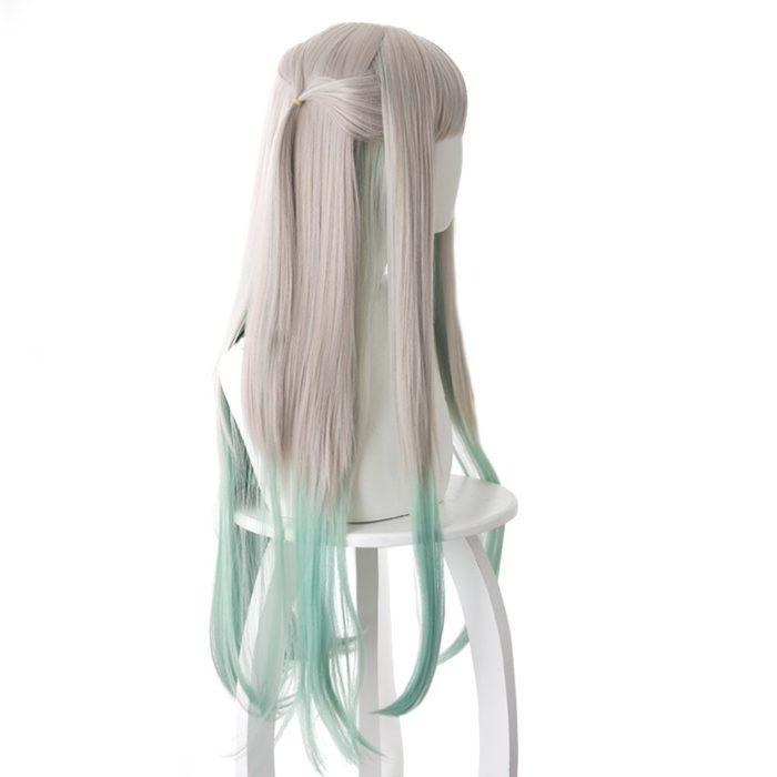 80cm Anime Jibaku Shounen Hanako kun Cosplay Perücken Nene Yashiro Lange Wärme Beständig Synthetische Haar Party Perücken 3