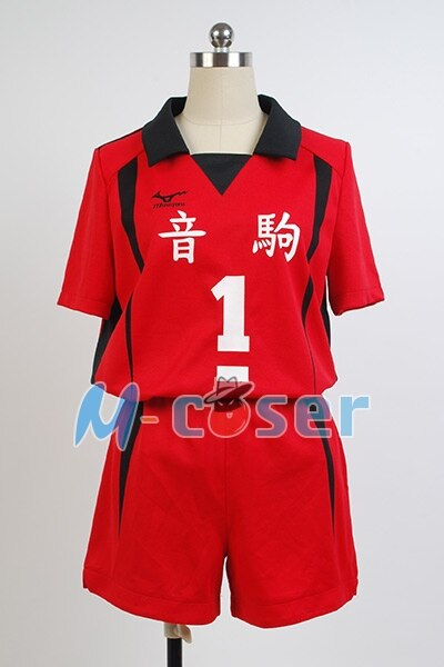 Anime Haikyuu Nekoma Hohe Schuluniform Kuroo Tetsurou/kozumekenma Jersey Cosplay Kostüm Sport Volle set 3